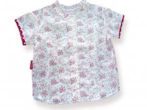 Риза с фина щампа на цветя цена 10,00лв. 1239559586