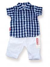 Риза синьо каре цена 15,00лв. 1320464578