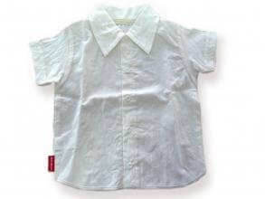 Риза светло екрю с къс ръкав цена 15,00лв. 1172348838