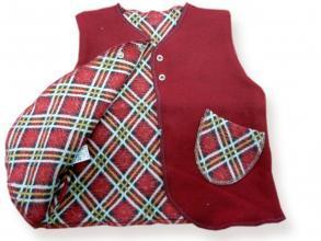 Елек от памучен плат, двулицев. цена 10,50лв. 1530484913