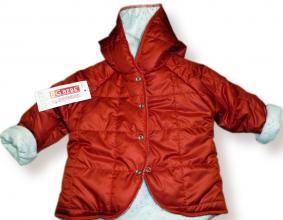 Дебело яке в червено цена 30,00лв. 802301205