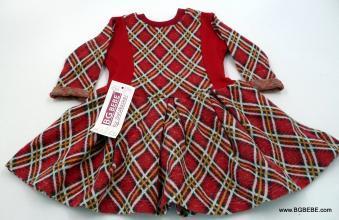 Карирана рокля за Коледа цена 21,80лв. 359112481