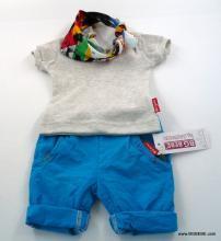 Комплект с блуза от памучен рипс цена 25,00лв. 1790692732