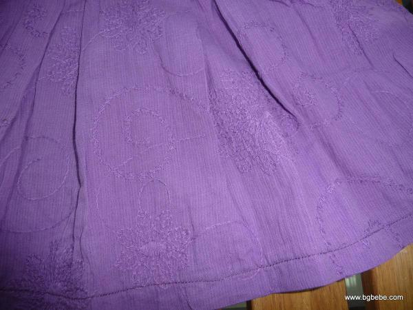 Рокля БГ БЕБЕ  лилава с нежна бродерия цена 25,00лв. 1221703307
