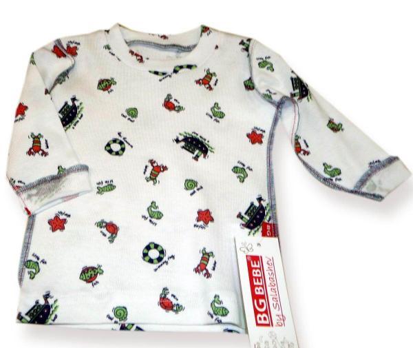 Блуза с морска щампа цена 10,00лв. 1522072123