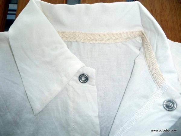Риза светло екрю с къс ръкав цена 15,00лв. 1410112140