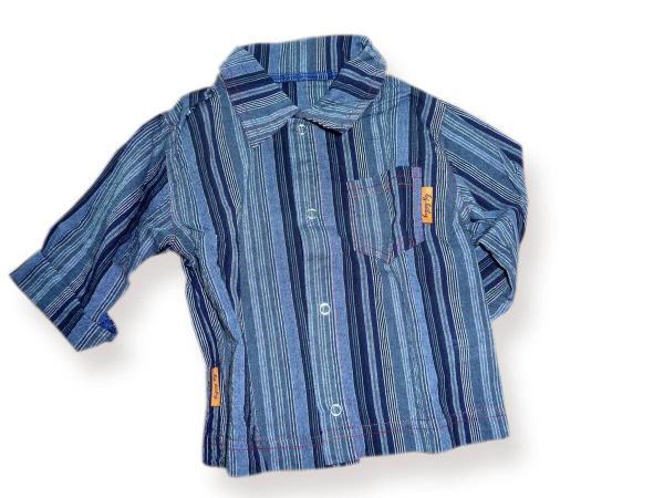 Риза синьо райе цена 10,50лв. 506165431