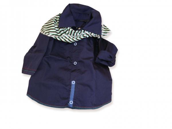 Риза тъмно синя цена 15,00лв. 137734984