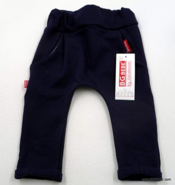 Панталон от ватирано трико в тъмно синъо цена 12,00лв. 102769914