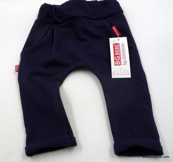 Панталон от ватирано трико в тъмно синъо цена 12,00лв. 453244131