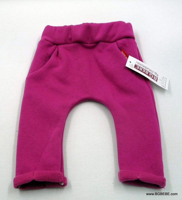 Панталон от триконечна вата в свежо розово цена 13,00лв. 93124349