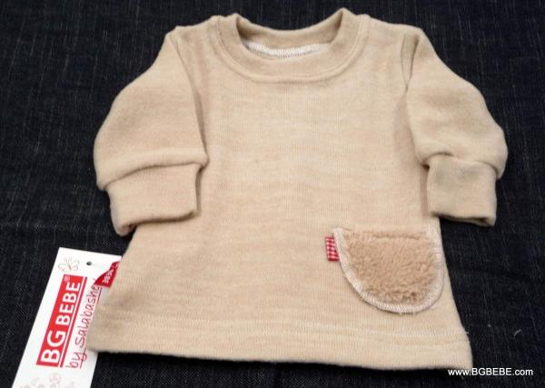 Meko пуловерче с пухкаво джобче цена 12,00лв. 1019798121