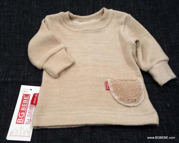 Meko пуловерче с пухкаво джобче цена 12,00лв. 1284774378