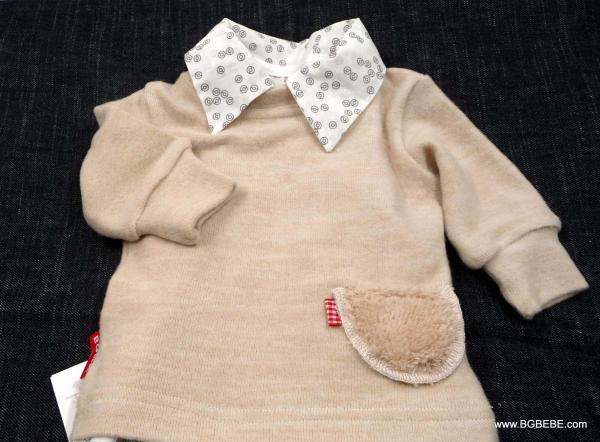 Meko пуловерче с пухкаво джобче цена 12,00лв. 1450421083