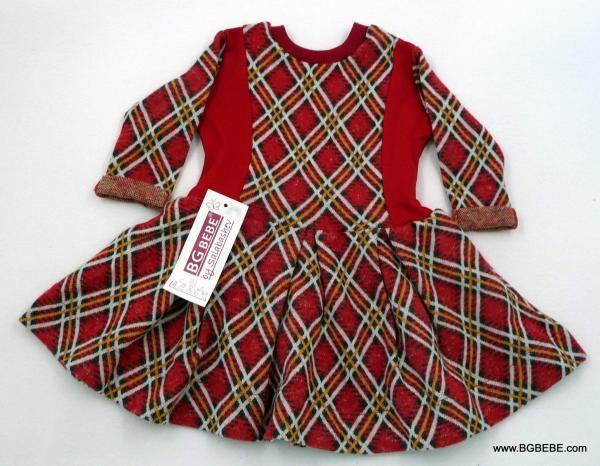Карирана рокля за Коледа цена 21,80лв. 1102450447