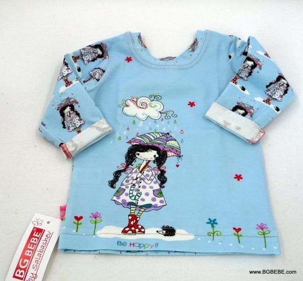 блуза с момиченце с  чадърче цена 10,00лв. 792542074