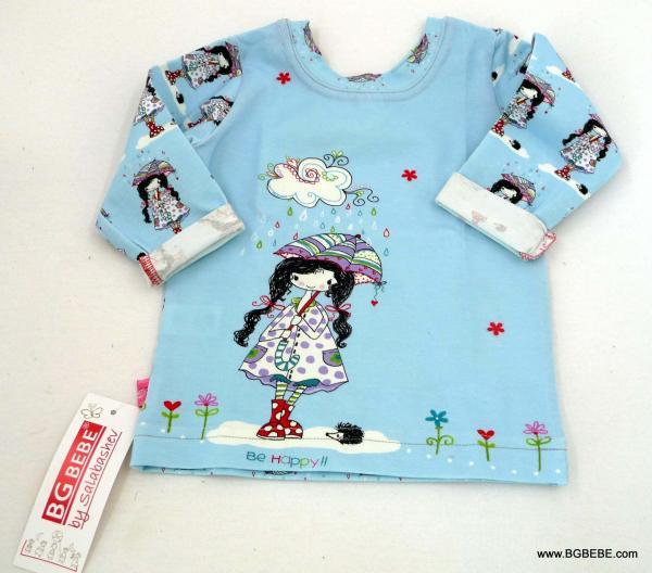 блуза с момиченце с  чадърче цена 10,00лв. 453811411