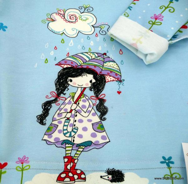 блуза с момиченце с  чадърче цена 10,00лв. 435670107