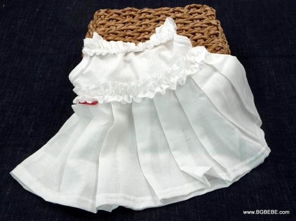 бяла рокля с презрамки цена 25,00лв. 1149611252