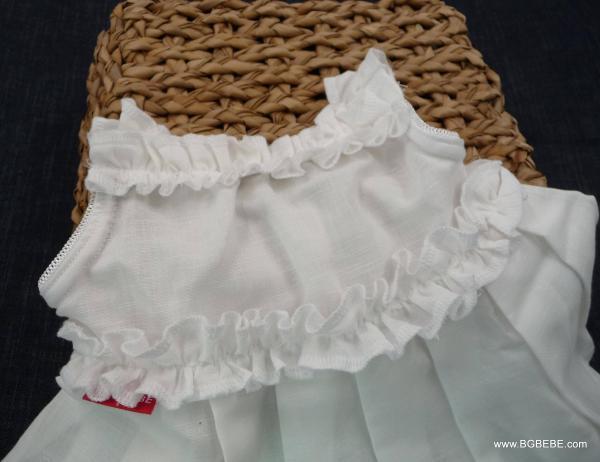 бяла рокля с презрамки цена 25,00лв. 195239274