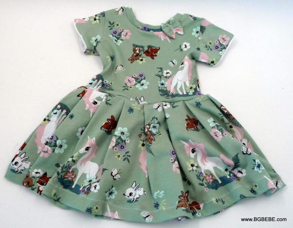 Трикотажна рокля с еднорог цена 25,00лв. 334222239