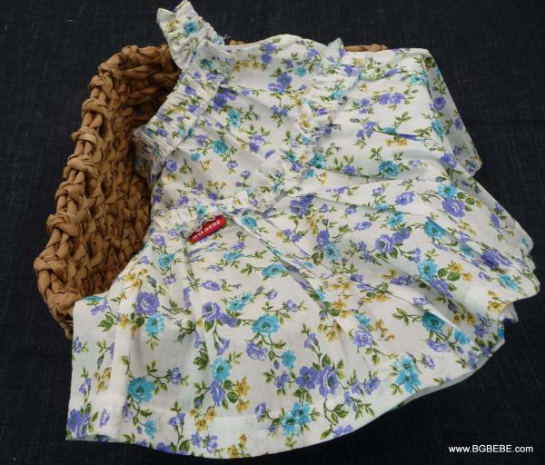 Нежна рокля с цветя цена 25,00лв. 185678537