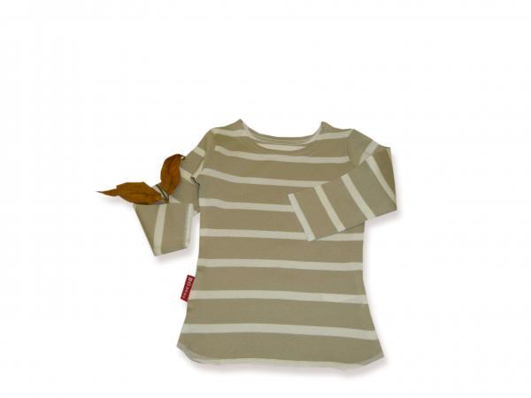 Блуза бежово райе с бяло цена 11,50лв. 1014919551